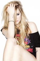 Looks Like Avril Is Fusing Into A Ball by MouthlessWonder