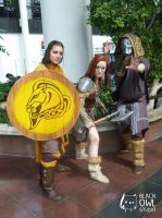 Skyrim Cosplay - FUS ROH DAH ! by BlackOwlStudio
