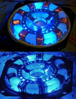 Iron Man Mark I Arc Reactor Scratch Build by ritter99