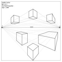 2 point perspective by Senerity