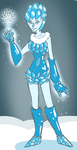 Frozen Ice Lady by Flame-Eliwood
