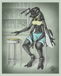 A Bee Walks Into a Bar... by goldwater