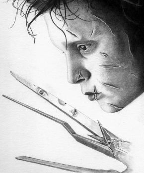 Edward Scissorhands by Dr-Horrible