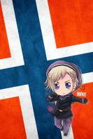 Hetalia iWallpapers - Norway by Dreamweaver38
