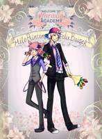 Ataraxia Academy:: Spring Fling ft. Milo and Felix by ShutUpChibsi