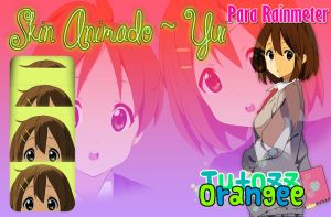 K-ON Animado Yui Rainmeter by TutozzOrangee