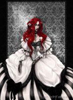 Queen Goddess Revisted -PRINT- by SpookyChan