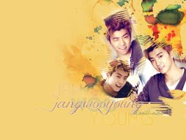 [Wallpaper] Wooyoung-2PM by Danti2411