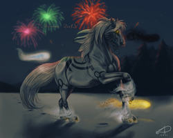 Welcome 2013 by CrackMonster
