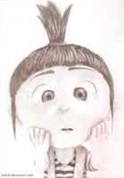 Despicable Me - Agnes by Habiib