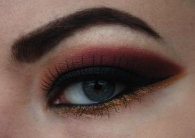 Sunset look by Looksbyrose