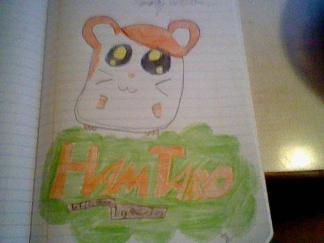 My Drawing of Hamtaro by tommywalk14