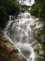 Waterfall in Peru by romeboards28