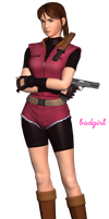 Claire Redfield RE2  ((RENDER)) by Badgirl5