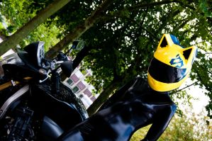 Celty in Daylight? by Foxseye