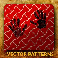 Vector Patterns. hands by paradox-cafe