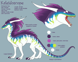 Kaleidoscope Reference 2.0 by KazultheDragon