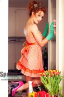 spring housewife malina by michalobrzut