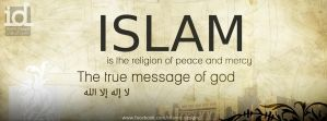 Islam is the message by islamicdesignz