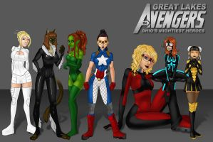 Great Lakes Avengers - Full by LexiKimble