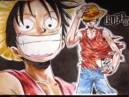 One Piece: Monkey D.Luffy by Fatee21