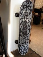 Leather Skateboard by loganriese