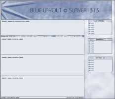Blue Layout by Slayer1313