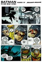 Batman: The Dark Knight Returns Humor by Miller by StevenEly