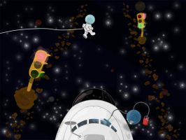 Space Crossing by ness84