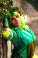 Rydia from Final Fantasy by LeadingPlantLady
