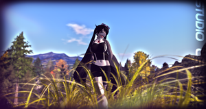Laylah -Shark in the Grass- Second Life by Jace-Lethecus