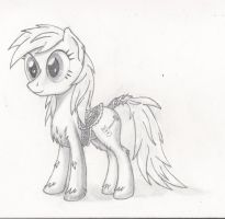 Stylistic Experiment: Arctic Pony by JustABlankFlank