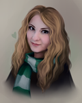 Slytherin Baby by ShimiArt