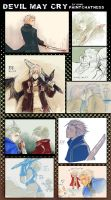 +DEVIL MAY CRY doodles log1+ by goku-no-baka