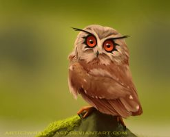 Realistic Hoot-Hoot by Wraeclast