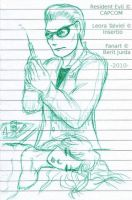 War Diary - Wesker and Leora by WAH-HOO