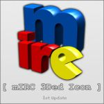 mIRC 3Ded Icon Update by bledg