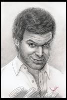 Michael C. Hall - Dexter Morgan by mariaanghel