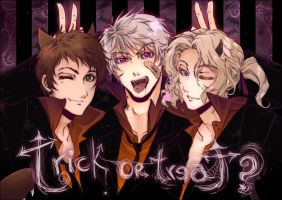 Bad Touch Trio Halloween by NightWolfOfDoom9909