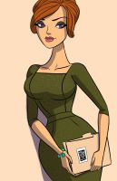joan halloway by CH3CHE