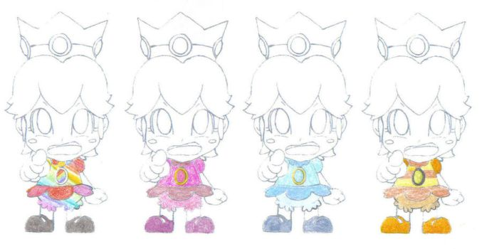 Baby Peach's Wardrobe 3 by RUinc