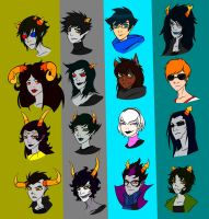 Zombiestuck Teams by LeijonNepeta