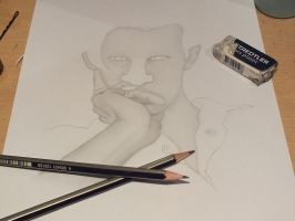 Matt Smith WIP by IchBinJayne