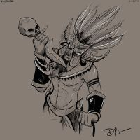 Diablo 3 - Witch Doctor - Commissioned by DragonZ911