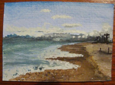 Worthing Beach by Milliebead