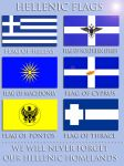 Hellenic Flags by Hellenicfighter