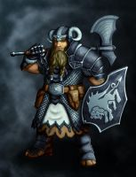 Dwarf Knight by zironeto