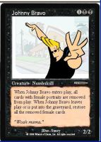 Johnny Bravo card by Tormakir