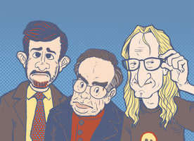 The Lone Gunmen by chasmosaur