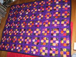 Wedding Quilt for Betta and Ivo by Kristine-Scheiner